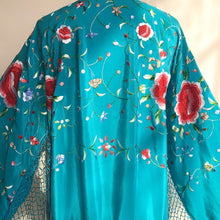 Load image into Gallery viewer, to the Gypsy, that I was (Turquoise with Multi color Embroidery)