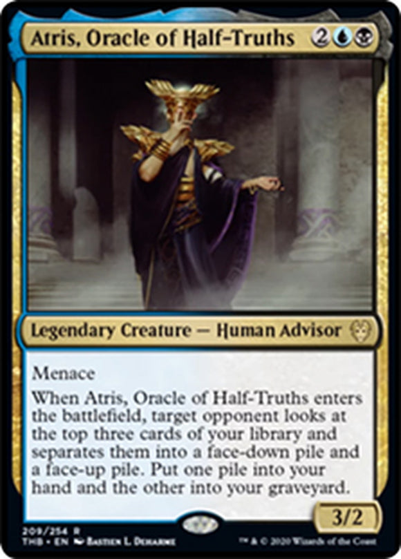 Atris, oráculo de las medias verdades - Atris, Oracle of Half-Truths   THB-209