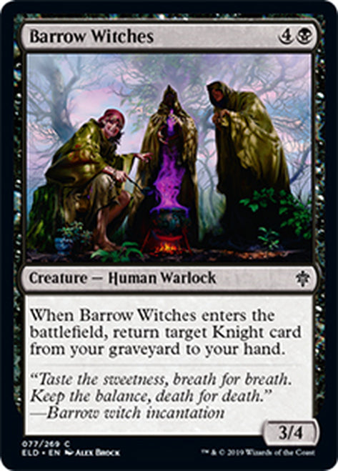 Brujas de los túmulos - Barrow Witches   ELD-077