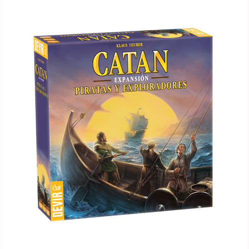 Catan: Piratas y Exploradores de Catan