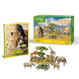 Animales de África - Puzzle 3D - National Geographic