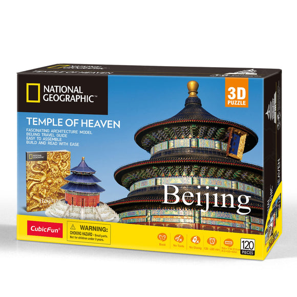 Temple Of Heaven - Puzzle 3D - National Geographic