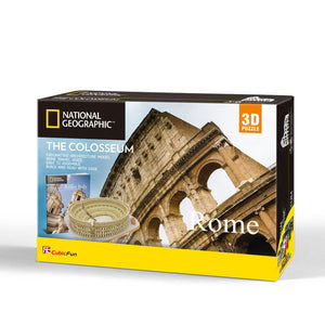 Coliseo Romano - Puzzle 3D - National Geographics