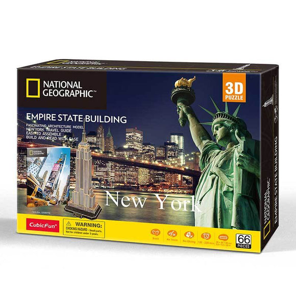 Empire State Building - Puzzle 3D - National Geographic