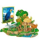 Amazon Rain Forest - Puzzle 3D - National Geographic