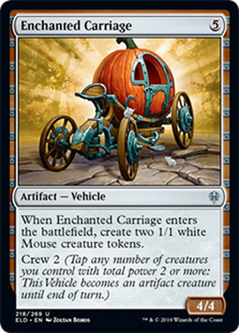 Carruaje encantado - Enchanted Carriage   ELD-218