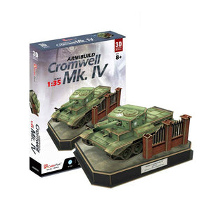 Cromwell MK. IV - Puzzle 3D