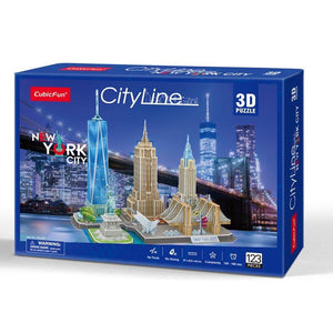New York City Line - Puzzle 3D