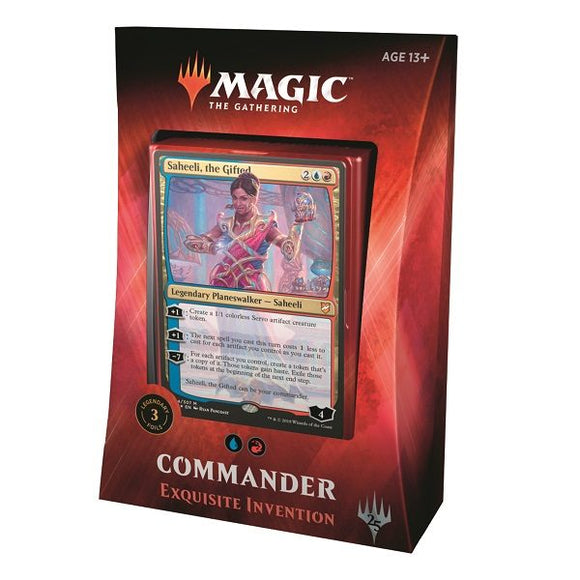 Commander Deck 2018: Exquisite Invention