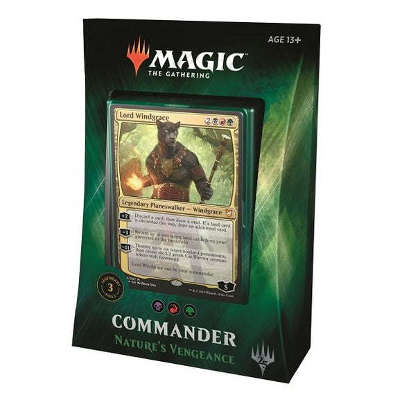Commander Deck 2018: Nature's Vengeance