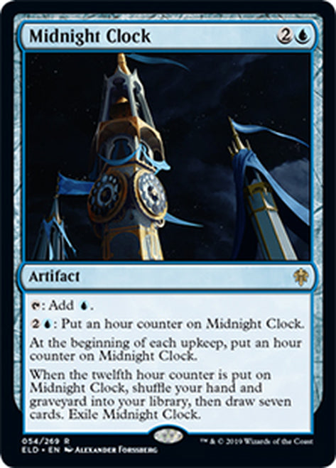 Reloj a la medianoche - Midnight Clock   ELD-054