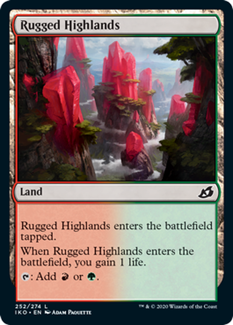 Rugged Highlands   IKO-252