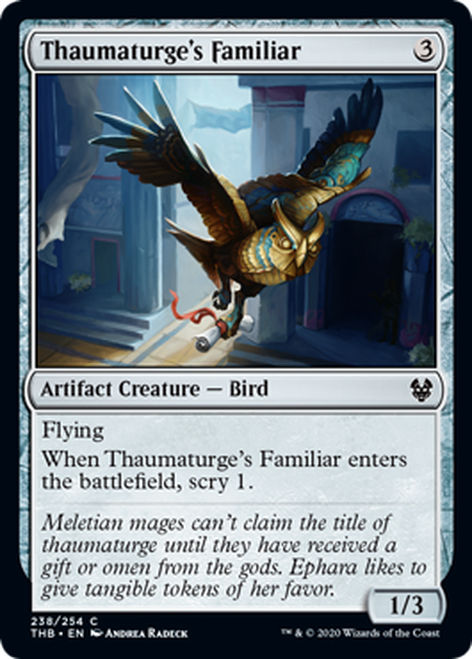 Familiar del taumaturgo - Thaumaturge's Familiar   THB-238