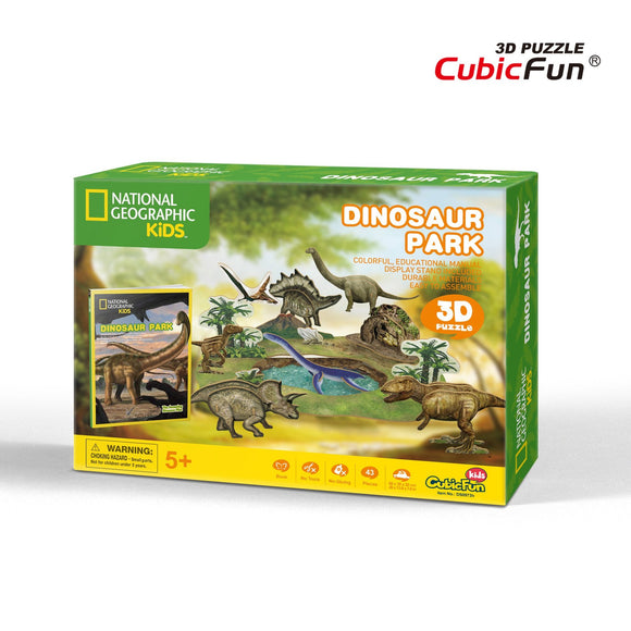 Dinosaurios - Puzzle 3D - National Geographic