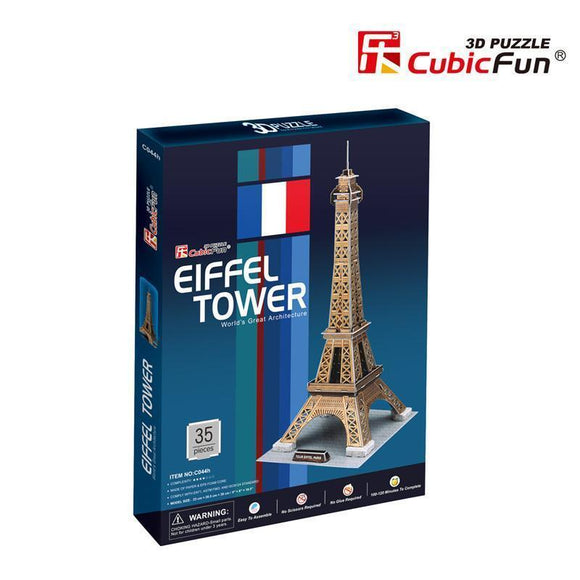 Torre Eiffel Mediana - Puzzle 3D
