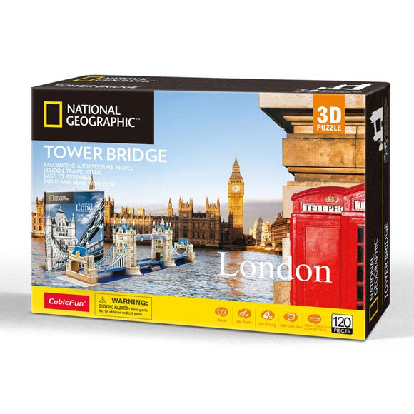 TOWER BRIDGE - NATIONAL GEOGRAPHICS - PUZZLE 3D