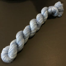 Mini Silkymerino Fingering Weight - Light Blue