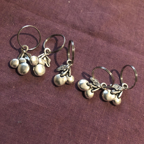 Stitch Markers - Cherry Set