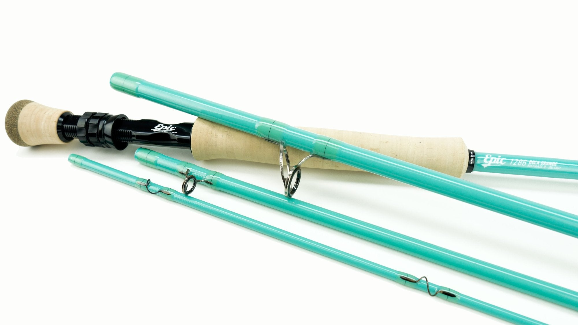 Fly fishing 12wt fiberglass fly rod by Epic