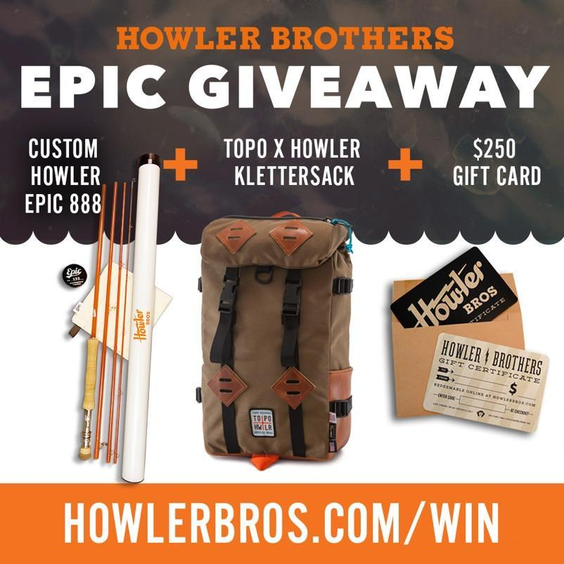The Epic Howler Topo Giveaway