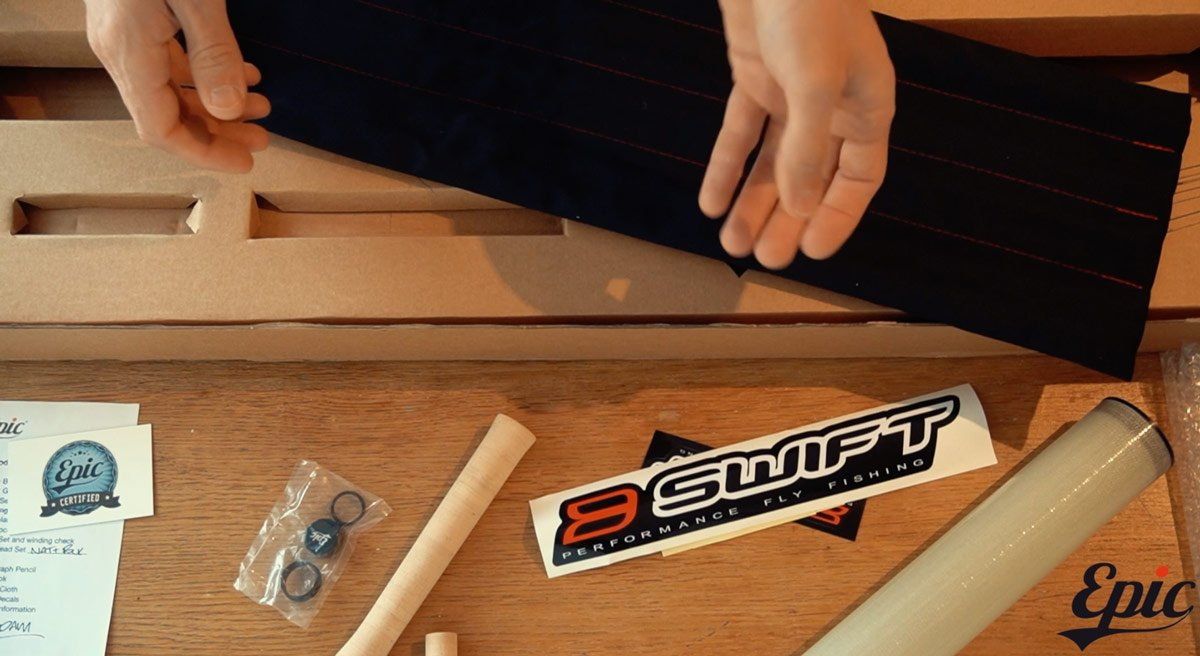 Fly Rod Building kits unboxing the epic 370 fly rod building kit