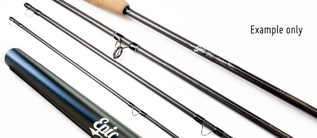 Build your own fly rod using the Epic Ready to Wrap Rod Kit