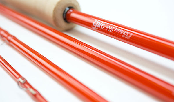 6wt 686 FastGlass Fly Rod