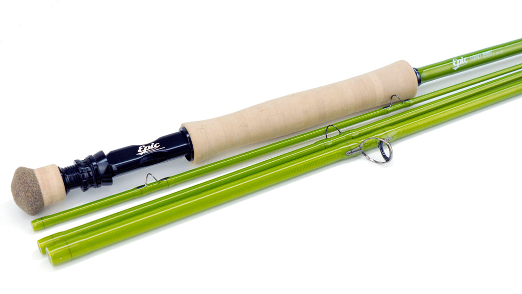 Epic Bandit 10wt Fiberglass fly rod