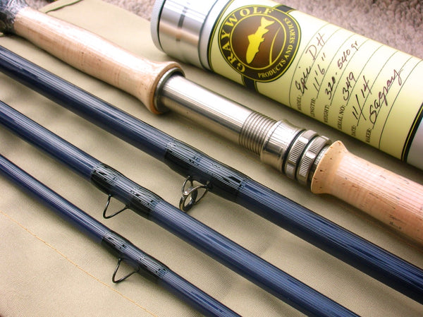 Custom Epic DH11 fiberglass glass two handed fly rod