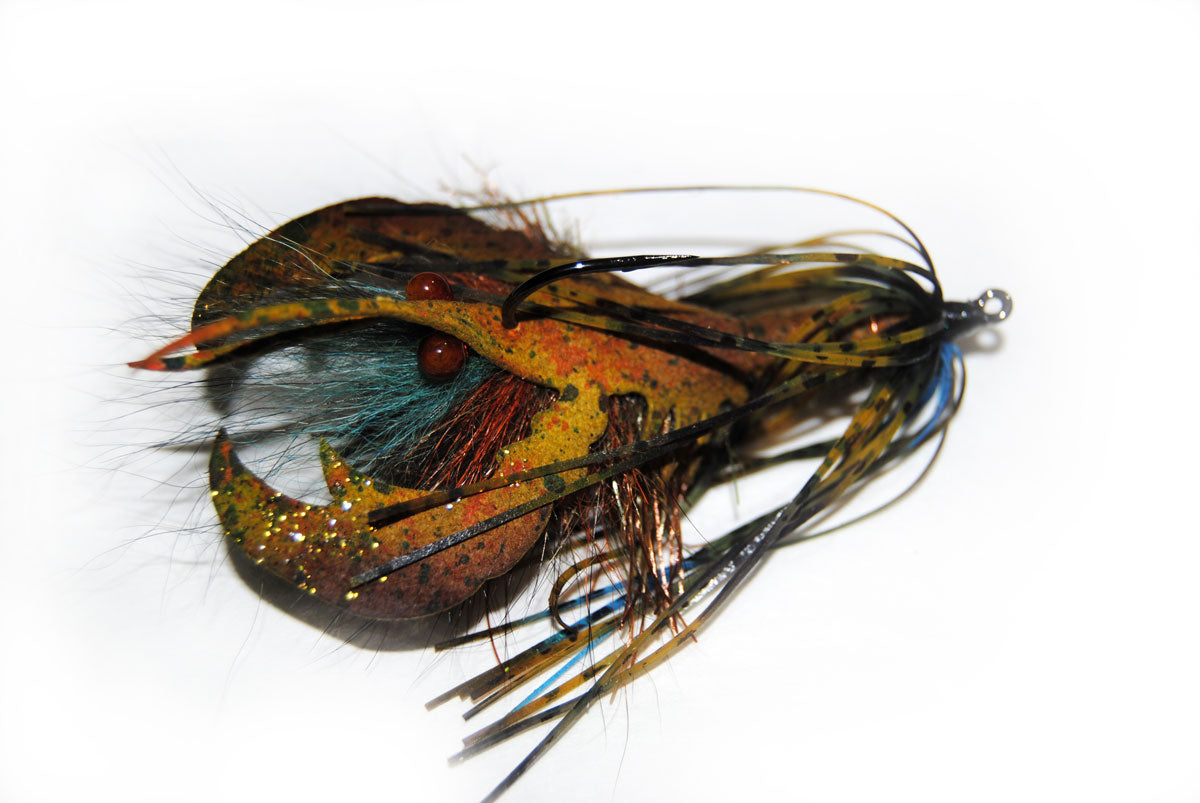 Cray fish fly Master Fly Tyer Pat Cohen