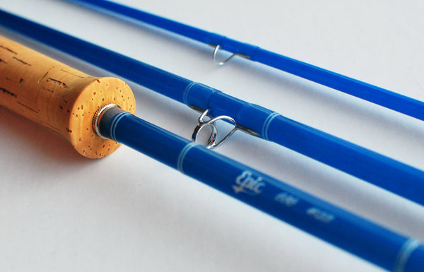 Custom Fiberglass Fly Rod by Tightloop fly rods
