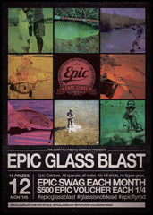 Epic Glass Blast Fibreglass fly rod fishing cometition