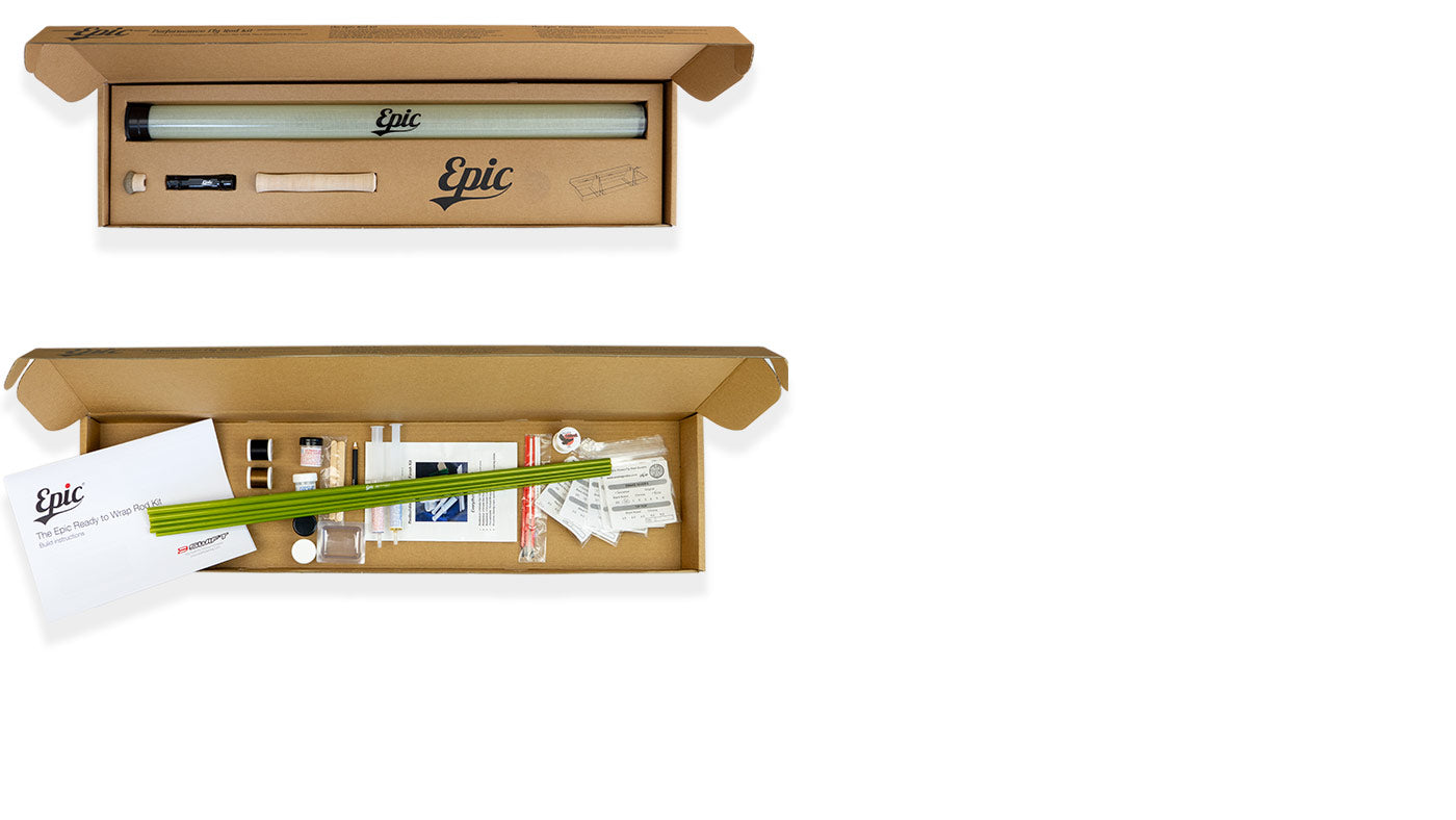 Fly rod building kits