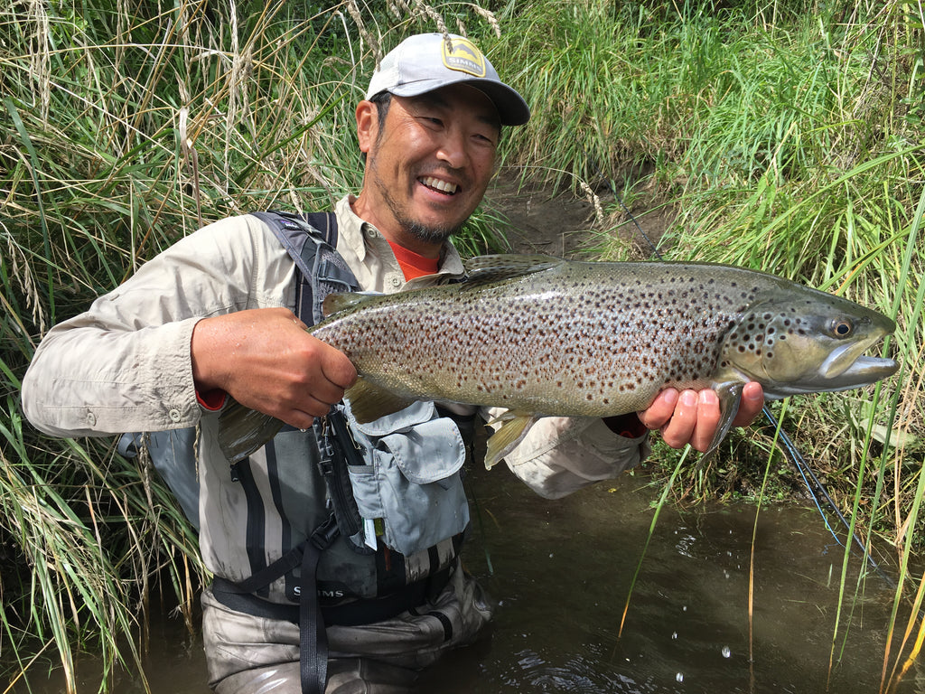 New Zealand Fly Fishing Guide Kunio Onishi