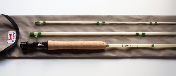 Custom Fiberglass Fly Rod build