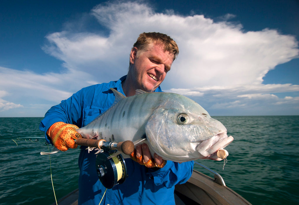 Golden Trevally Peci Boca Grande Fly Rod