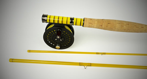 Custom Fibreglass Fly Rod Fly Fishing