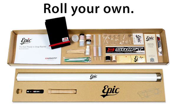 Build your own fly rod with Tim Romano and his Epic ready to wrap fly rod kit