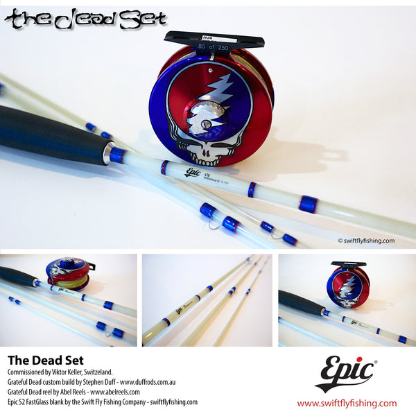 The Grateful Dead Custom Fly Fishing set