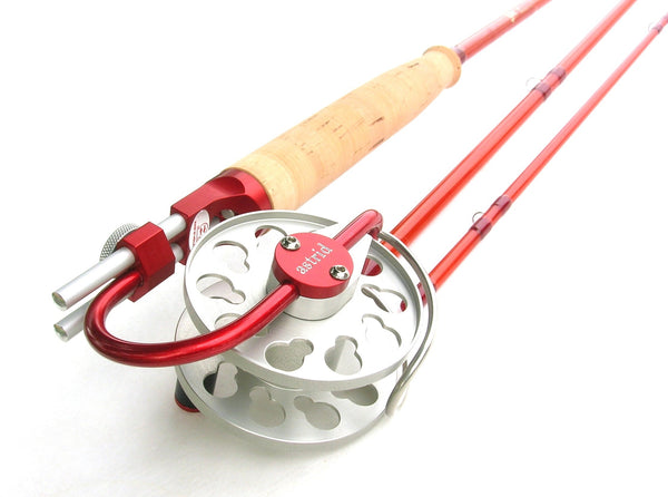 Ari T Hart Astrid Fly Reel on Custom Epic Fly Rod