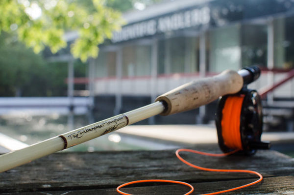 Fiberglass fly rod review the Epic 580 by Scientific Anglers