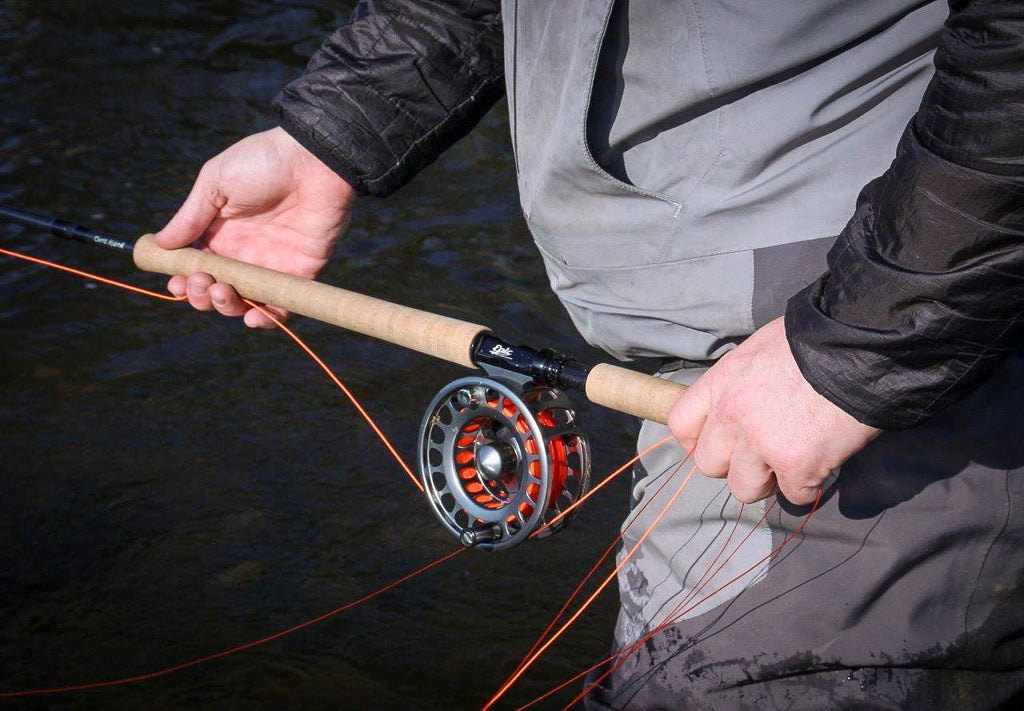 Speycasting relaxed grip