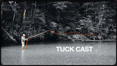 Fly casting the tuck cast from Cast that Catch Fish fly fishing dvd
