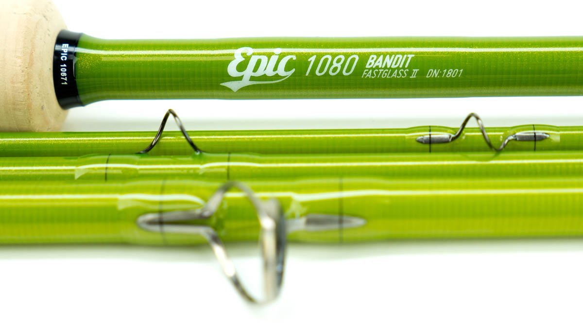 Epic Bandit Fly Rod 10 weight fiberglass fly rod