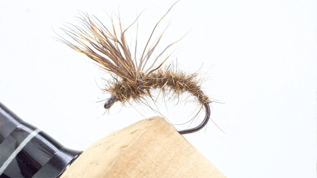 Bob Wyatt Deer Hari Emerger fly