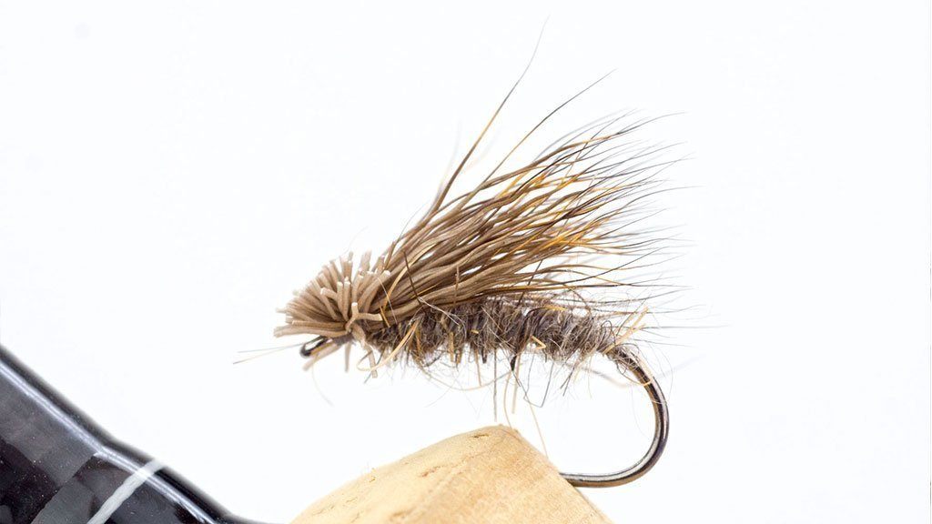 Bob Wyatt's Deer Hair Sedge most celebrated trout flies.