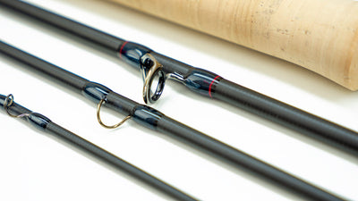 4wt graphite carbon fiber fly fishing rod by Epic featuring Graphene Nano technology