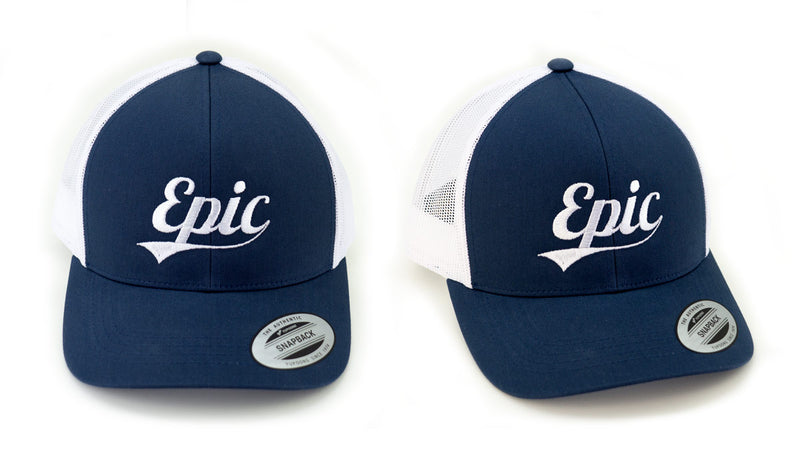 Epic Logo Snap Back Trucker Cap