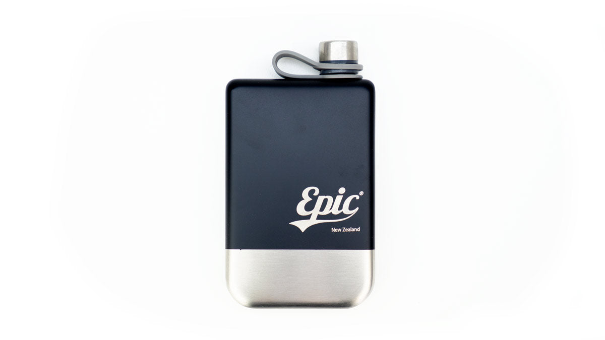 Good Libations Stainless Hip Flask