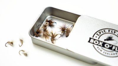 Best trout flies for fly fishing New Zealand